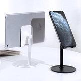 Support de tablette de support de téléphone de bureau en alliage d'aluminium TOPK pour téléphone intelligent iPad entre 4,7 et 10,5 pouces