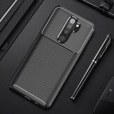 For Xiaomi Redmi Note 8 Pro Case Bakeey Luxury Carbon Fiber Shockproof Silicone Protective Case Non-original