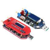 ZK-DP3A 15 W USB-Aufwärtsstromversorgungsmodul Boost-einstellbarer Konverter Potentiometer zur Steuerung der Lüftergeschwindigkeit mit LCD-Display