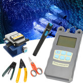 TK16 Fibre optique FTTH Tools Kit Power Meter FC-6S Fiber Cleaver Finder Locator Finder