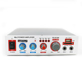 FS-S100 12W 220V USB TF Card bluetooth Speaker Audio Amplifier