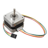 3 stks 42mm 12V Nema 17 tweefasige stappenmotor voor 3D-printer