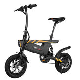 [EU Direct] Ziyoujiguang T18S 7.8AH 36V 250W Folding Electric Bike 12 Inches 25km/h Top Speed 30-35km Mileage Intelligent Variable Speed System Max. Bearing 120kg