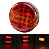 10-30V Car Rear Tail Light Hamburger LED Lamp Para Camião Truck Van Trailer