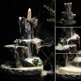 Керамический Горный Водопад Держатель Конусов + 7 Конусов