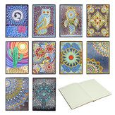 A5 Notebook Office Supplies Notepad Diary Planner Special Shaped Diamond Painting Notebook
