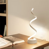 Bakeey 24W Spiral Simple Modern Romantic Wedding Room Stylish Golden LED Creative Small Table Desk Lamp Night Light