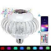 AC110-220V 6W Musique sans fil E27 bluetooth LED Lampe ampoule 5050 Haut-parleur audio stéréo couleur RVB