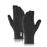 Touch Screen Gloves Winter Warm Windproof Waterproof Fleece Lined Thermal Mountaineering Ski Mens