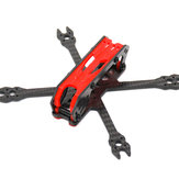 URUAV UR22 chave Kit de quadro híbrido-X de fibra de carbono de 3 polegadas de estilo livre para FPV Racing RC Drone