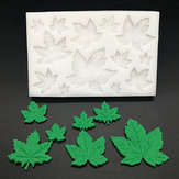 Tree Leaf / Maple Leaf Silicone Stampo Fondente Stampo Cake Decorating Strumenti Cottura