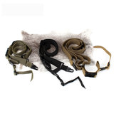 ohhunt Nylon Tactical Belt Sling Adapter Outdoor Camping Wandern Tactical Supplies-Grün / Braun / Schwarz