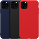 NILLKIN Smooth Shockproof Soft Rubber Wrapped TPU Protective Case for iPhone 11 Pro Max 6.5 inch