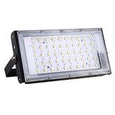 50W 50 LED Luz de inundação DC12V 3800LM IP65 impermeável para acampamento ao ar livre Viagem de emergência