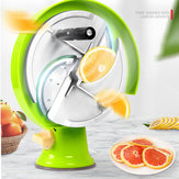 Stainless Steel Fruit Vegetable Slicing Machine Lemon Slicer Manual For Commercial Handmade Tools