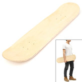 Blank Double Warped Deck Concave Deck Bois Naturel Skate Deck DIY Skateboard