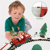 Christmas Electric Rail Car Small Train Children's Electric Educational Car Toys