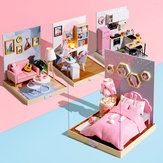 Cuteroom BT Corner of Happiness Series DIY Cabin Doll House Geschenkverzameling Decoratie