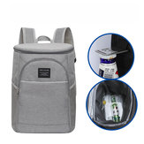 DENUONISS LH044 18L Outdoor Picnic Backpack Insulated Thermal  Cooler Bag Lunch Food Container