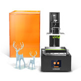 Longer® Orange10 UV Resin 3D Printer 98mm*55mm*140mm Print Size 2.8inch Touch Screen Offline Printing