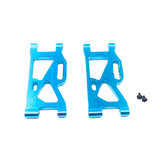 2PCS Wltoys 144001 Upgraded Metal Rear Suspension Swing Arm 1/14 RC Car Vehicles Spare Parts