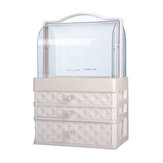 Organisateur de maquillage de bureau Clear Comestics Makeup Storage Comestics Make Up Storage Box Container