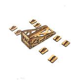 Suporte de montagem de motor de madeira universal para 2208 2212 2216 Motor RC Model