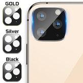 Metal + Temperli Cam çizilmez Telefon Lens Koruyucu için iPhone 11/11 Pro / 11 Pro Max