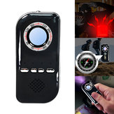 Multifunctional Tools Infrared Detector Anti-lost Anti-theft Alarm Compass Violet Detector Camping Survival Tool