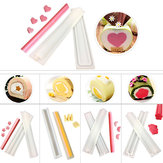 DIY Silicone Handmade Soap Mould Mousse Cake Sandwich Love/Diamond/Moon/Plum