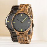 BOBO BIRD S27 Casual Style Men Wrist Watch Wooden Creative Quartz Watches
