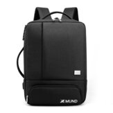 Xmund XD-DY35 35L USB Backpack 15.6inch Laptop Bag Waterproof Anti-theft Lock Travel Business School Bag