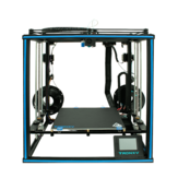 TRONXY® X5SA-2E Kit de impresora 3D de dos colores CoreXY con extrusora doble Titan Doble eje Z 330 * 330 * 400 mm Tamaño de impresión TMC2225 Ultra silencioso