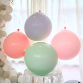 6Pcs 24inch Latex Balloon Circular Birthday Wedding Birthday Baby Shower Party Decoration
