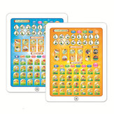 Arabic & English Bilingual Languages Electronic Learning Reading Machine Tablet Foreign Language Learning Machine Early Education Reading E-Book Toys for Kids
