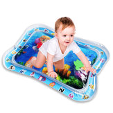 Baby Water Play Mat Inflatable Infants Toddlers Fun Tummy Time Activity Center Ice Mat Baby Floor Mat