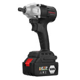 168VF 630N.m Max Brushless Cordless Electric Impact Wrench Power Drill Driver W/ 16800mAh Battery