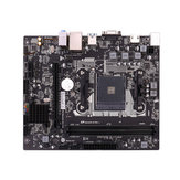 Placa-mãe colorida AB350M-K PRO V14 B350 Chip M-ATX para AMD Tomada AM4 e Ryzen Series