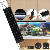 For 65-70CM RGB 78LED Aquarium Fish Tank Light Aquarium Light Extendable Brackets US/AU/UK
