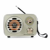 MD-307BT Retro vintage AM FM SW Radio bluetooth Altoparlante TF TF USB USB Home Audio Antenna Radio