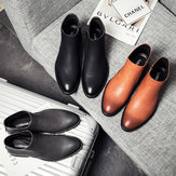 Men Retro Ankle Boots