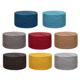 Fabric Sofa Stool Cover Lazy Sofa Footstool Rest Padded Seat Home Room Furniture