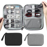Boona 22cm*17cm Digital Accessories Storage Bag U Disk USB Cable Memory Cary Organizer Bag