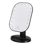 Battery Powered 20 LED Makeup Mirror Light Desktop Home Touch Screen 180° Adjustable Angle Mirror