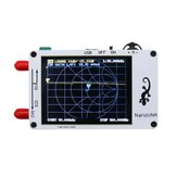 Analisador de Rede NanoVNA Vector 50 KHz-900 MHz Digital LCD Display HF VHF UHF Antena Analisador De Onda Em Pé USB POWER
