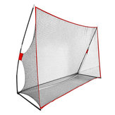 10 x 7FT Katlanabilir Golf Vuruş Uygulaması Net Sürüş Eğitimi Yardımcıları Taşıma Çanta Depolama Ağı
