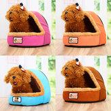 Cama do animal de estimação Almofada Casa Soft Almofada Ninho Quente Canil Cachorro Mat Cobertor