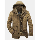 MensReversible Winter Outdoor Thick Warm Big Size Jacket