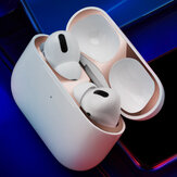 Bakeey Apple Airpods Pro Ultra Thin Dust-proof Earphone Storage Case Metal Protective Film Sticker Dust Guard
