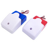 Mini Strobe Siren Sound Alarm Lamp Flashing Red Blue Indicator Light Wired 12V 24V 220V 110DB